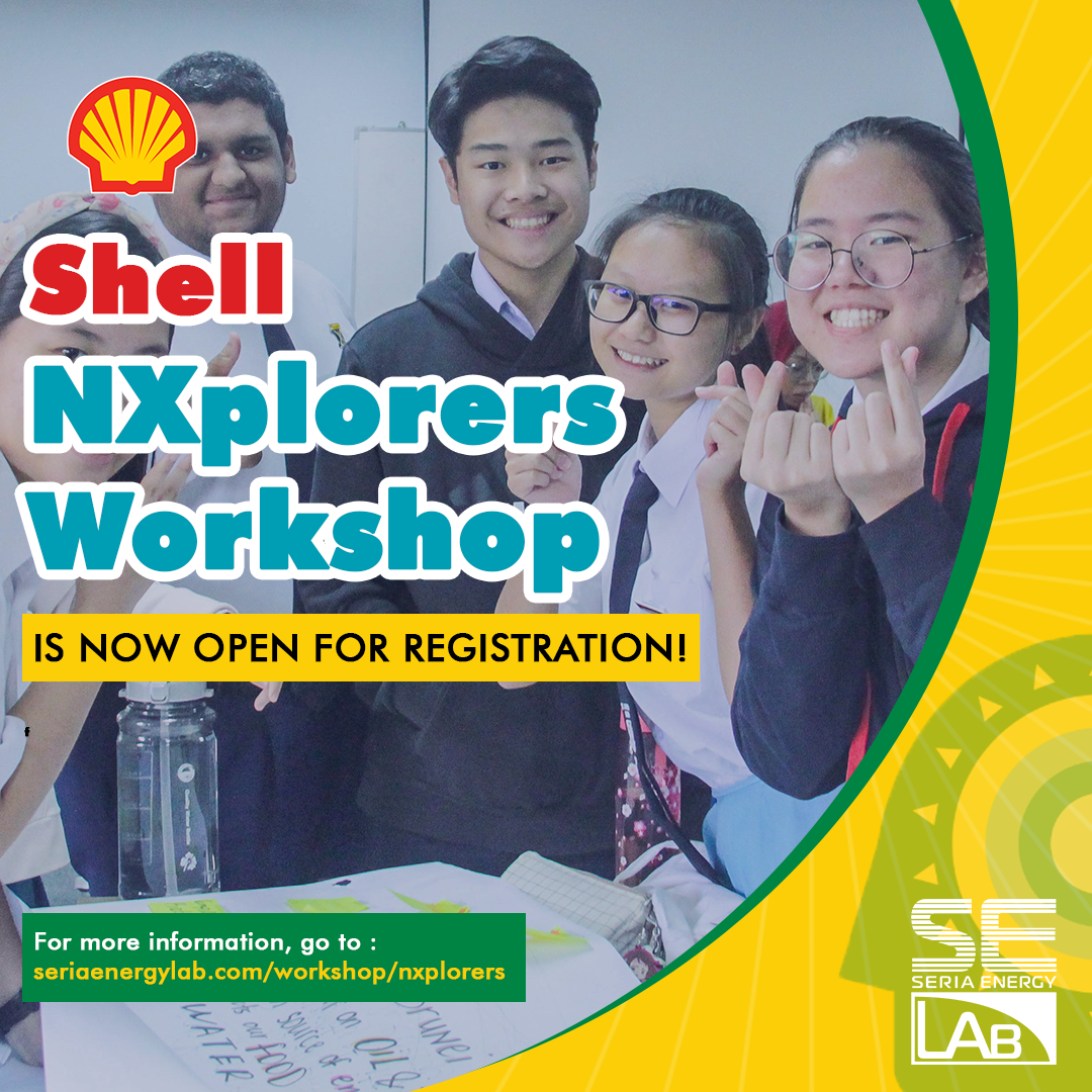 Shell NXplorers Workshop now open for registration!