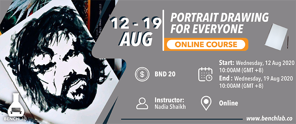 Portrait Drawing For Everyone Online Course