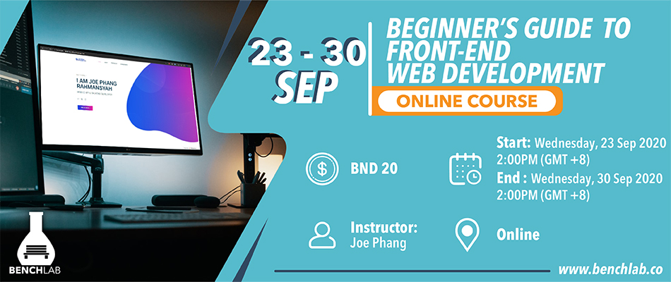 Beginners Guide to Front End Web Development Online Course