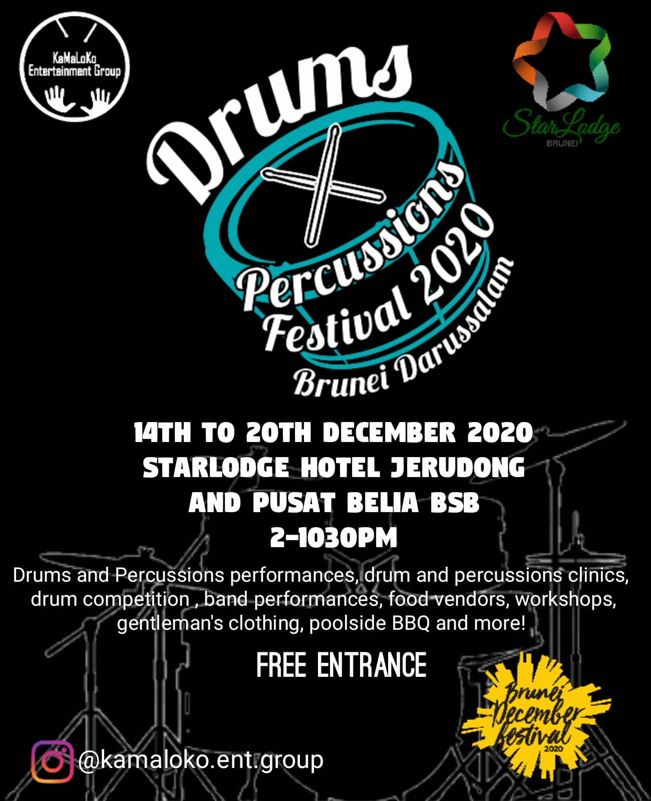 Drums x Percussions Festival 2020