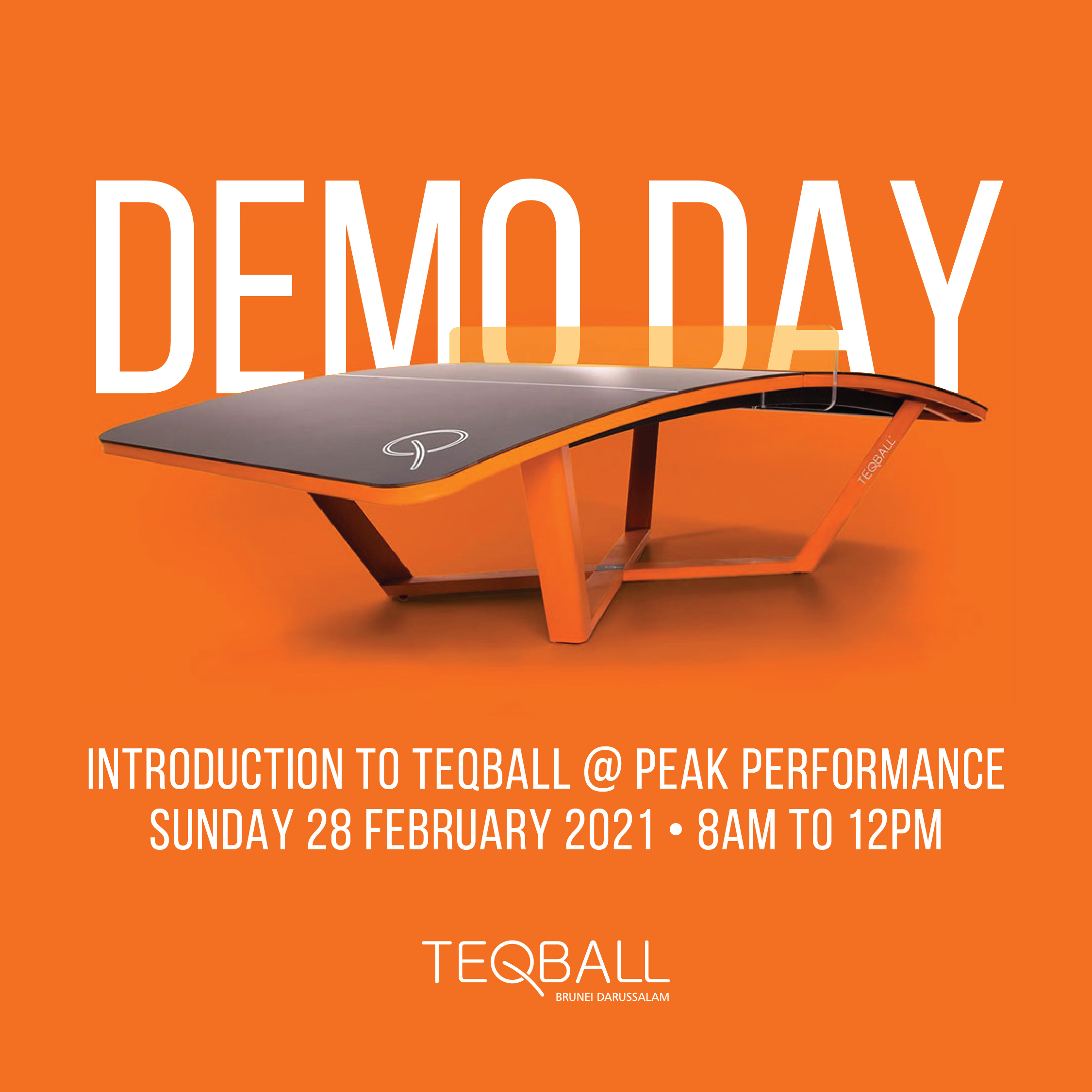 Teqball Demo Day